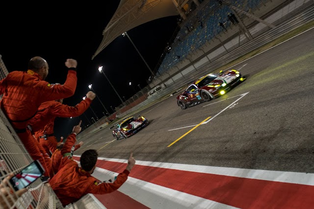 Ferrari wins all before them; Calado and Pier Guidi crowned GT Drivers' Champions