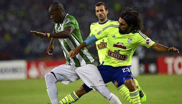 Sporting Cristal vs Atletico Nacional en vivo