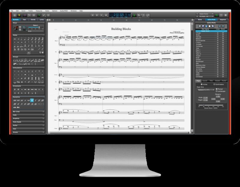 精緻高品質的打譜軟體Overture推薦