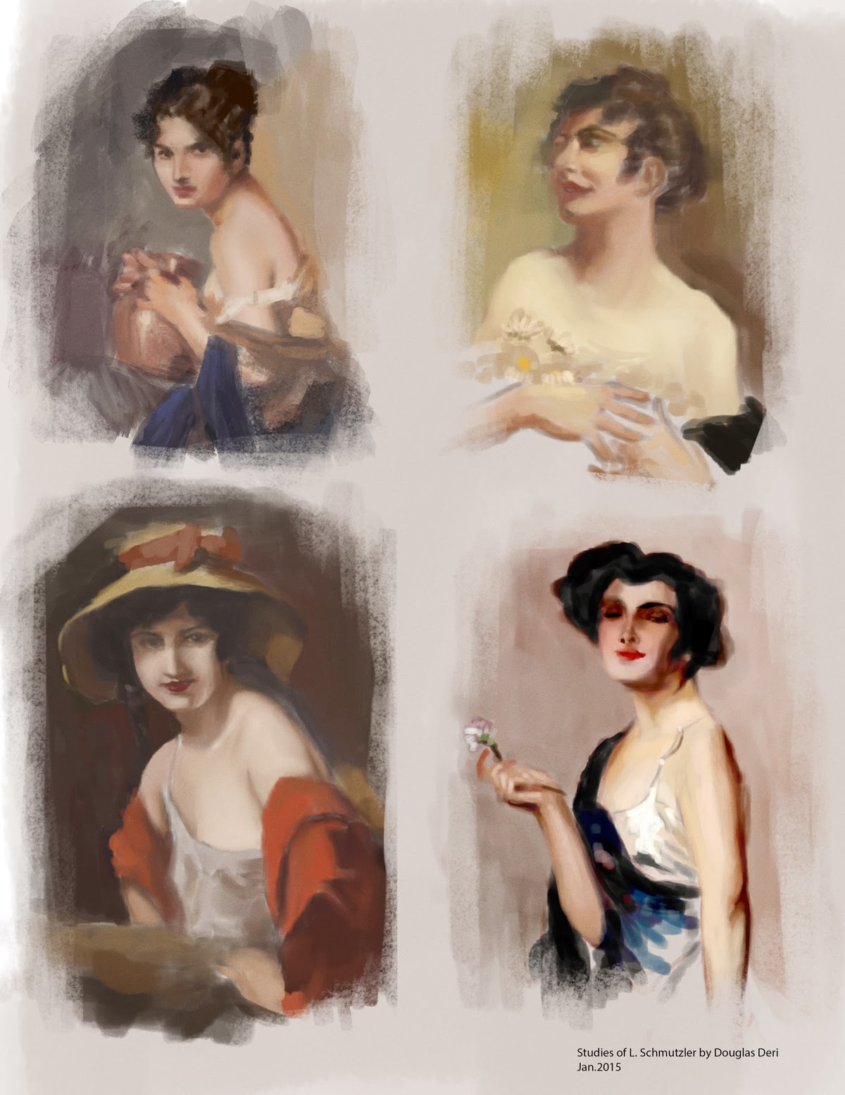 douglas deri, studies, sketchbook, fineart,how to paint, photoshop brushes, brushes, how to draw, como desenhar,