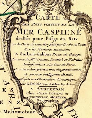 Исторические карты Кавказа, черные черкесы