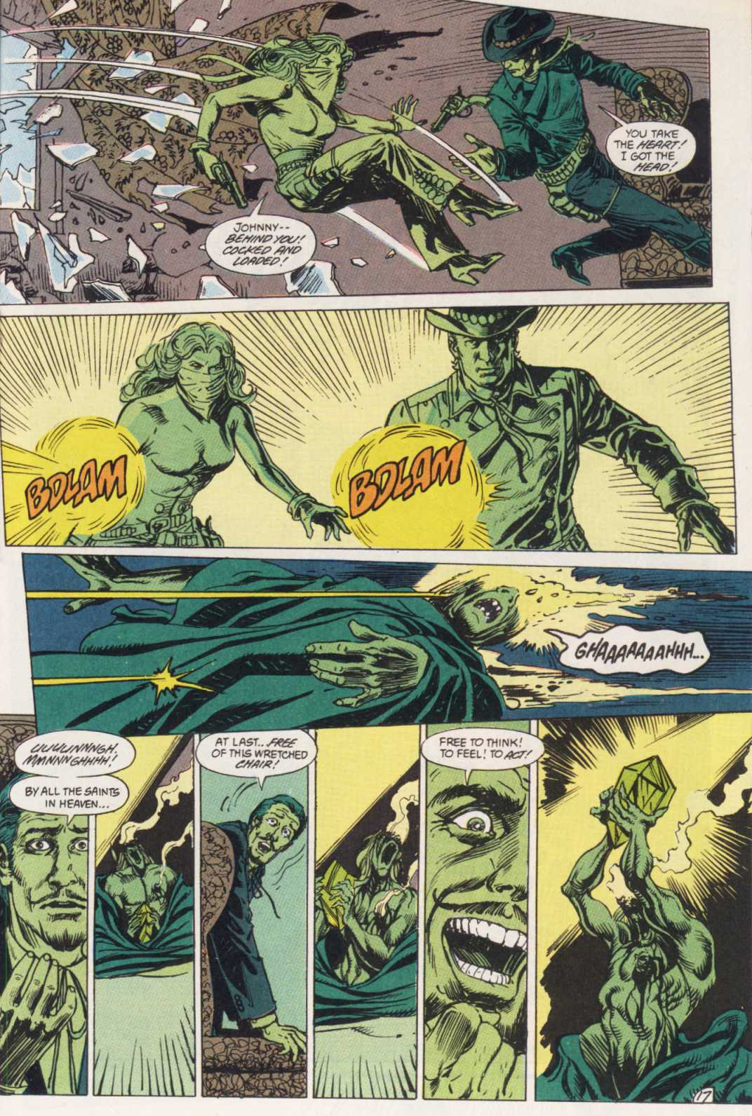Swamp Thing (1982) Issue #85 #93 - English 17