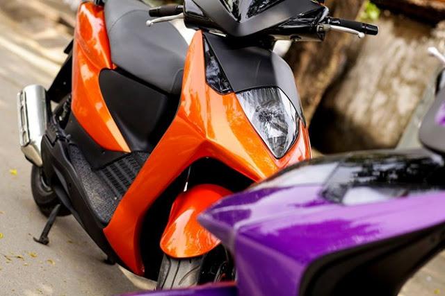 Sơn tân trang xe máy, cực đẹp giá rẻ tại Tphcm
