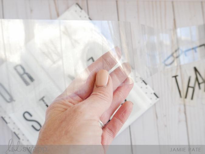 How To Keep Gratitude Visual with Heidi Swapp Lightbox Shelf by Jamie Pate | @jamiepate for @heidiswapp