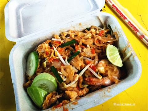 makanan thailand padthai