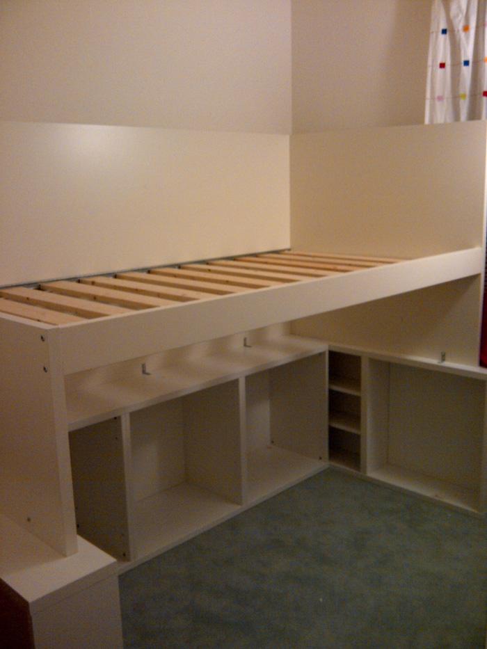 Besta Odda Loft Bed Get Home Decorating