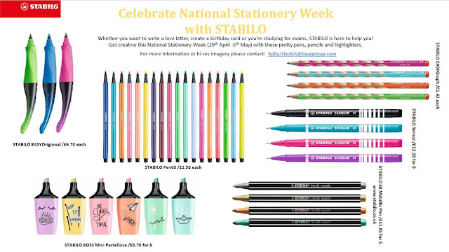 Celebrate National Stationery Week with STABILO