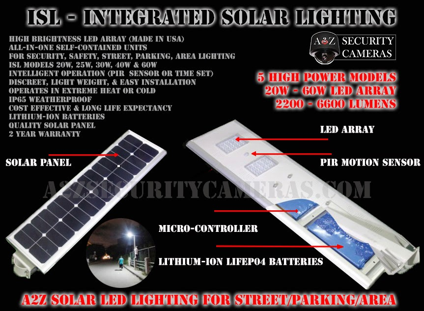 A2z Security Cameras Cctv Ip Network Solar Power