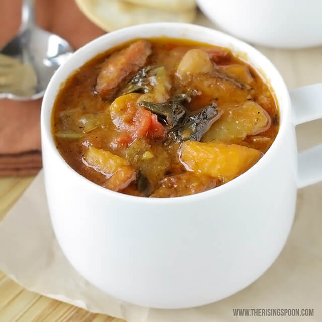 Smoked Sausage and Vegetable Soup | Real Food Recipe