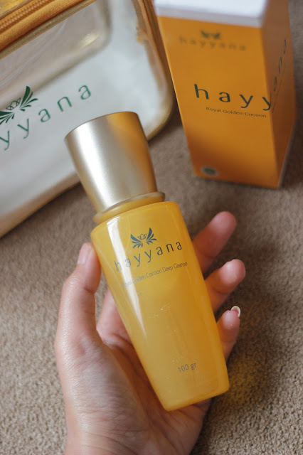 review  Royal Golden Cocoan Deep Cleanser Hayyana