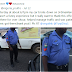 Man appreciates officer who stood by him for over 1hour when his car broke down in 3rd mainland