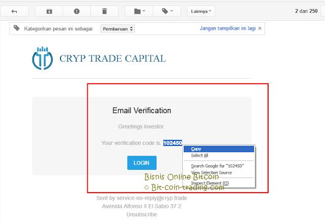 Panduan Cara daftar di Cryp Trade bagian 5