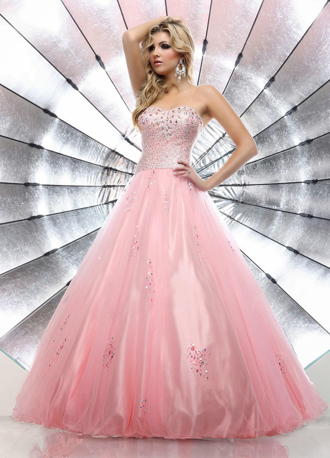 Excelentes vestidos de 15 años estilo princesa | Tendencias ...