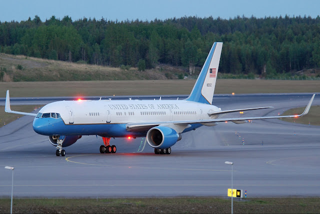 Boeing C-32, The Air Force Two