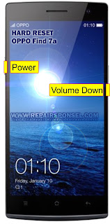 Hard Reset Oppo Find 7a Recovery Mode
