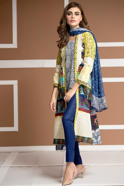 House Of Ittehad Lawn 2016 17 Vol Ii German Lawn Izabell