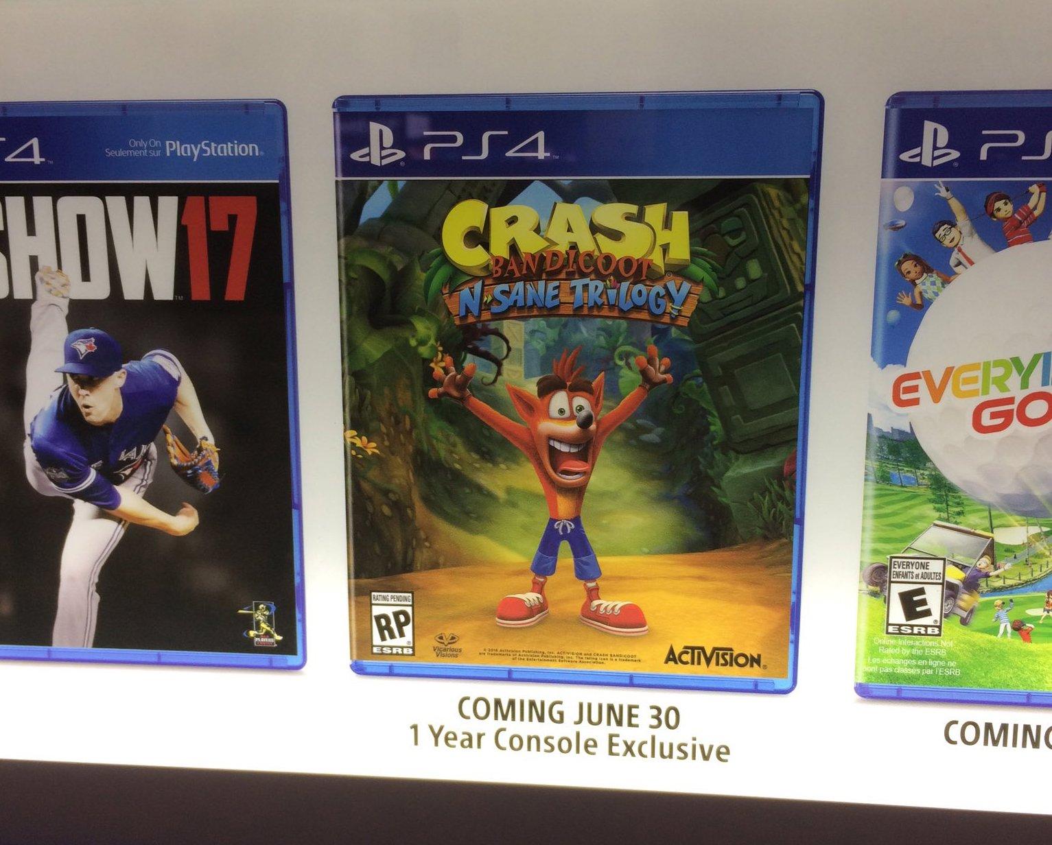 Crash Bandicoot N Sane Trilogy apunta también a Xbox One y ordenadores