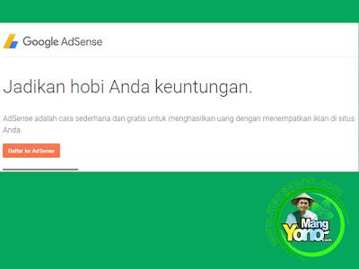 Google Adsense : Jadikan Hobi Anda Keuntungan