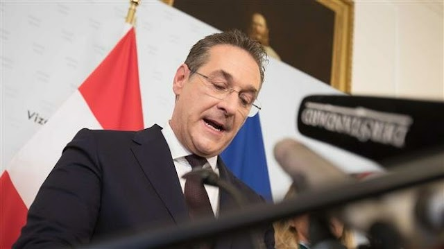 Austrian far-right vice-Chancellor Heinz-Christian Strache FPOe steps down over alleged corruption scandal