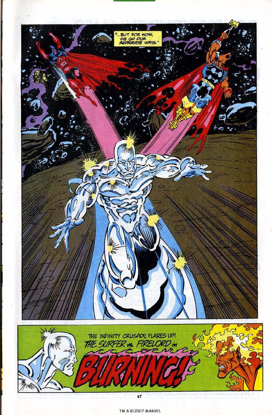Read online Silver Surfer (1987) comic -  Issue #82 - 49