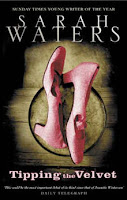 Book cover of Tipping the Velvet by Sarah Waters