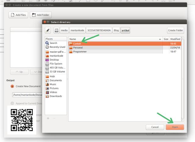 Convert Semua Gambar ke PDF di Ubuntu 16.04 LTS - MANTANKODE