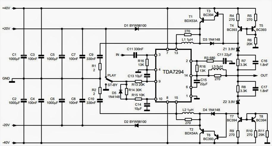 AmplifierCircuits.com: TDA