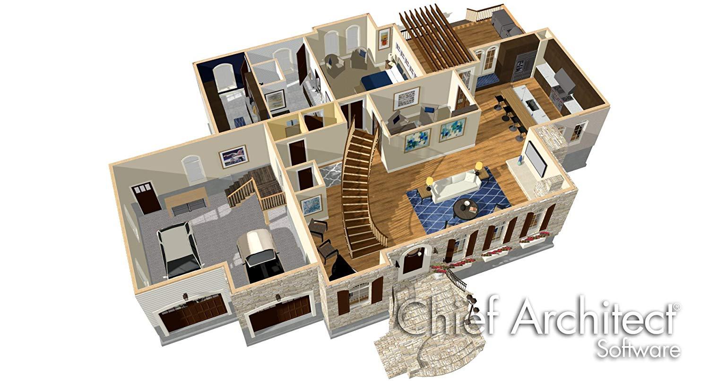 Chief Architect Home Designer Professional 2019 V20.3.0.54