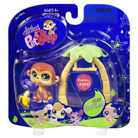 Littlest Pet Shop Portable Pets Monkey (#655) Pet
