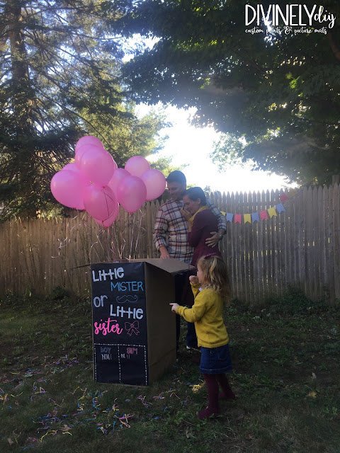 DIY Gender Reveal Box