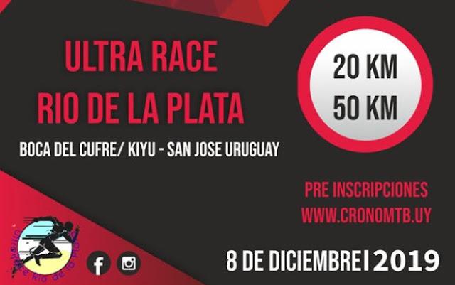 50k y 20k Ultra race Río de la Plata (Boca del Cufré a Kiyú - San José, 08/dic/2019)