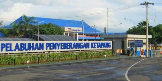 Pelabuhan Ketapang Banyuwangi.