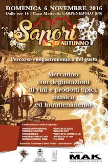 Sapori d'Autunno 6 novembre Carpenedolo (BS)