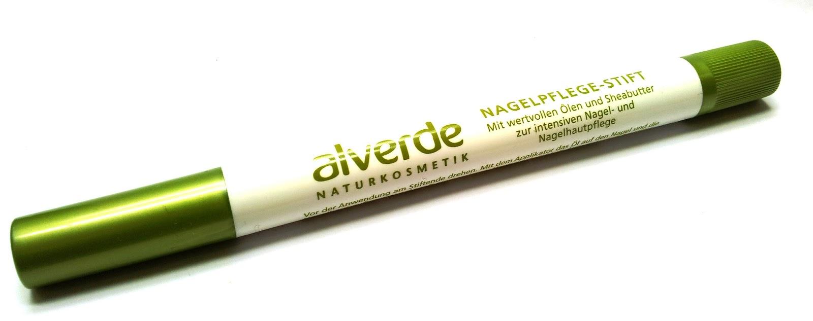 alverde: Nagelpflegestift mit Ölen und Sheabutter
