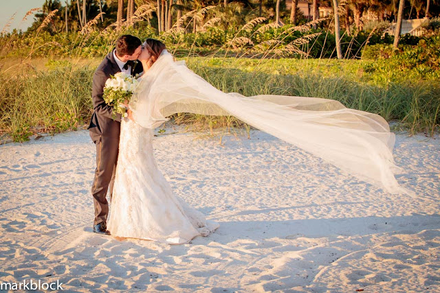 Mark Block Photography Beach Wedding of Morgan Nash and James Price
