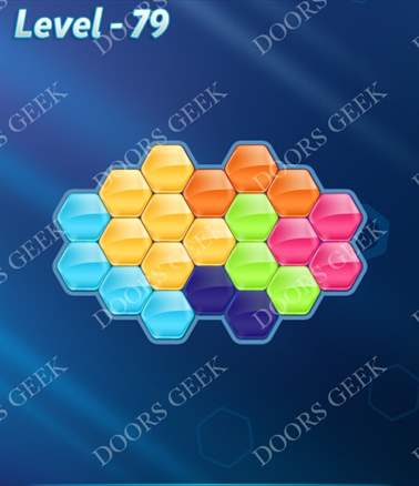 Block! Hexa Puzzle [6 Mania] Level 79 Solution, Cheats, Walkthrough for android, iphone, ipad, ipod