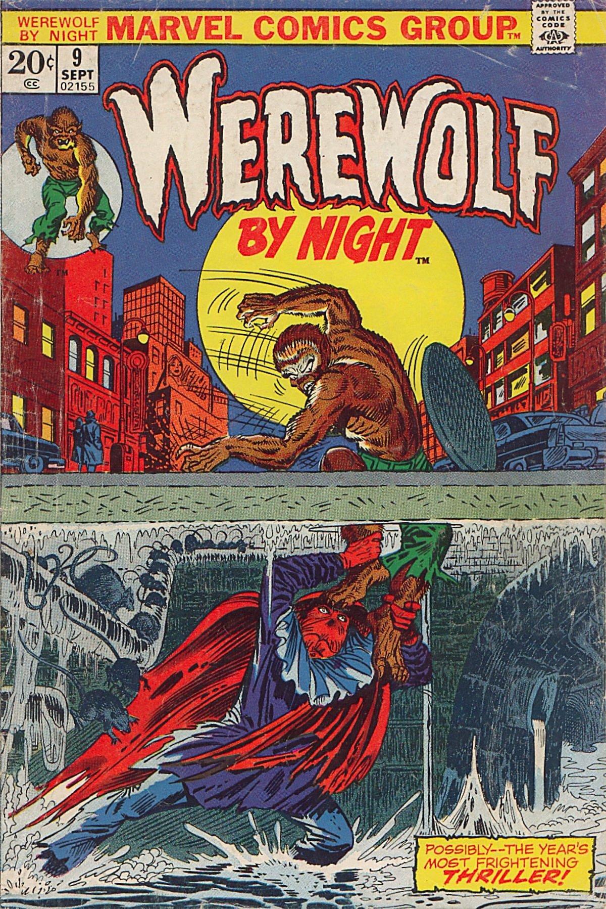 Werewolf by Night (1972) issue 9 - Page 1