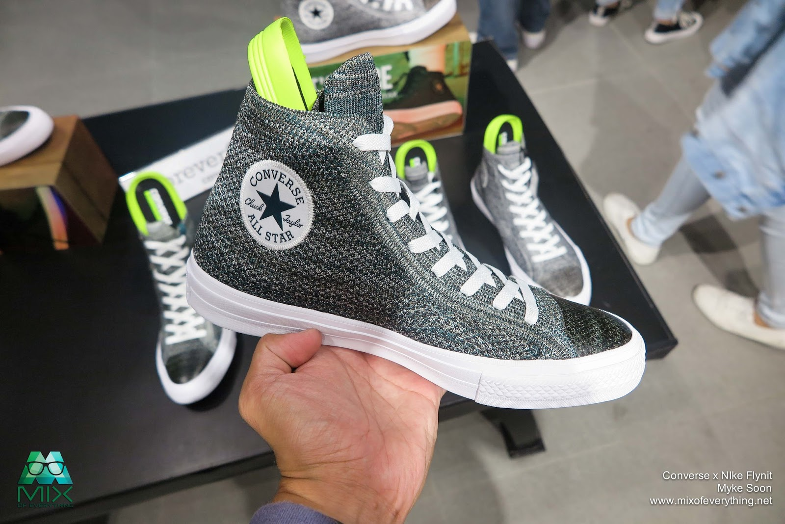 5a6f0e7e4edc Chuck Taylor All Star x Nike Flyknit - Hello! Welcome to my blog!