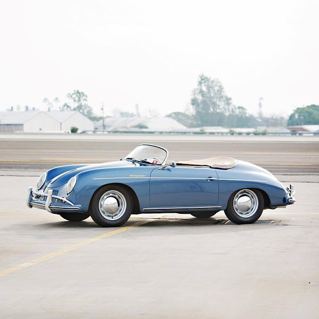 Jerry Seinfeld's Porsche Collection | 1957 Porsche 356 A Speedster