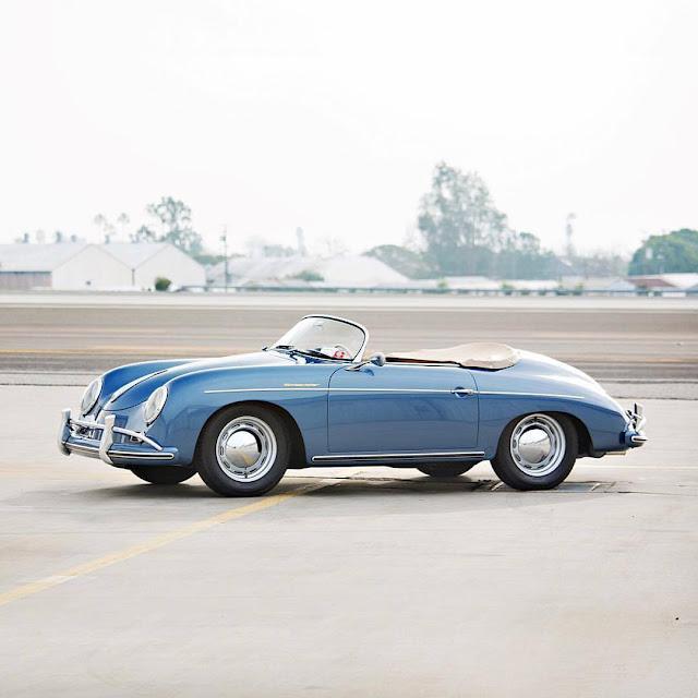 Jerry Seinfeld's Porsche Collection | 1957 Porsche 356 A Speedster