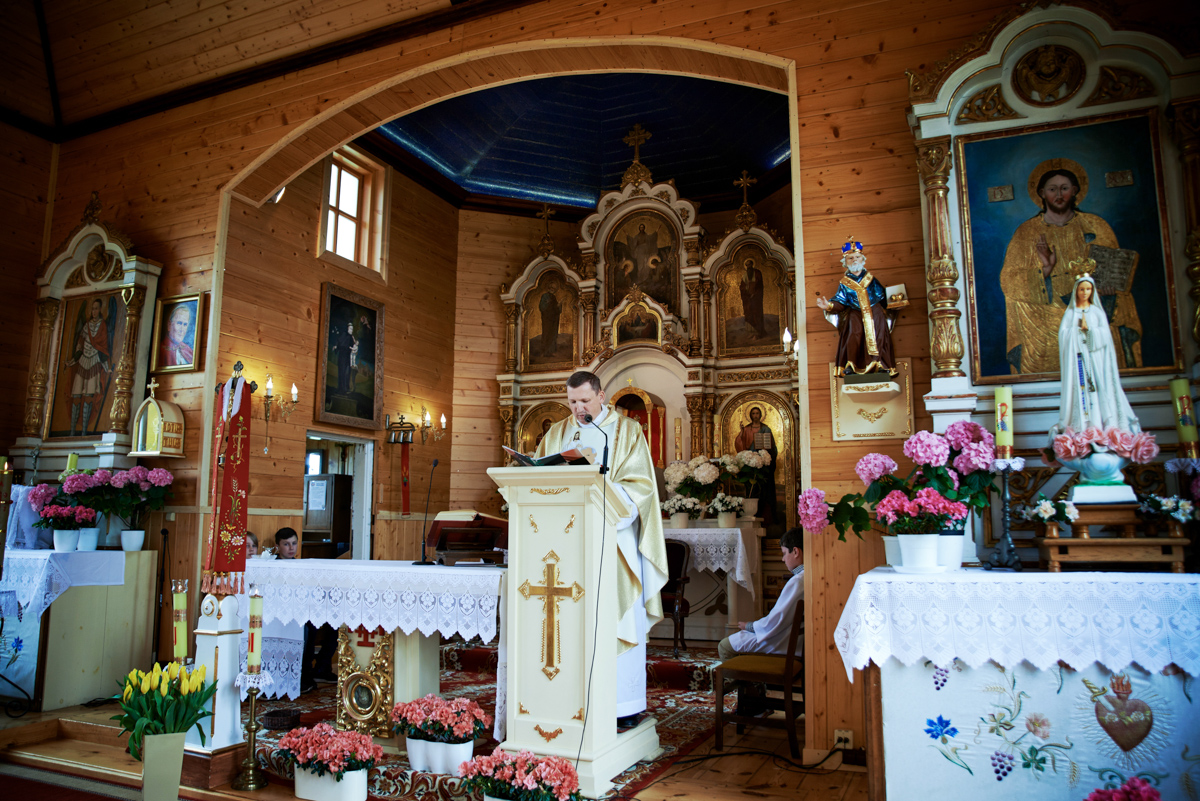 kościół w Rozwadówce