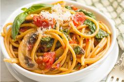 ONE-POT VEGETARIAN SPAGHETTI #vegan #spaghetti