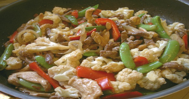 Beef And Chicken With Mixed Vegetables Recipe