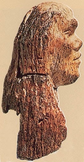 26,000 year old ivory head from Europe
