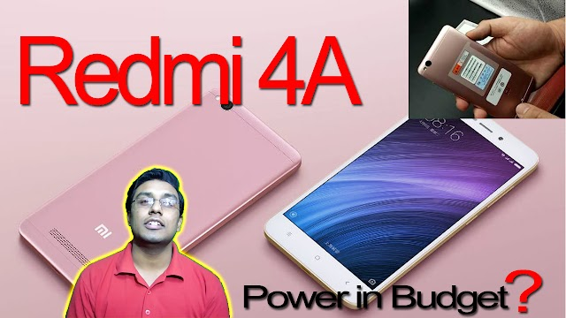 Xiaomi Redmi 4A Launched In India  | 🔥Price & Specification