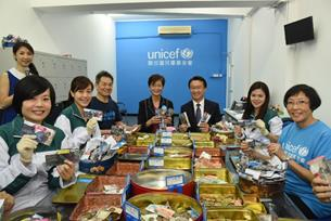 Cathay Pacific and UNICEF HK Celebrate 25 Years of Change for Good