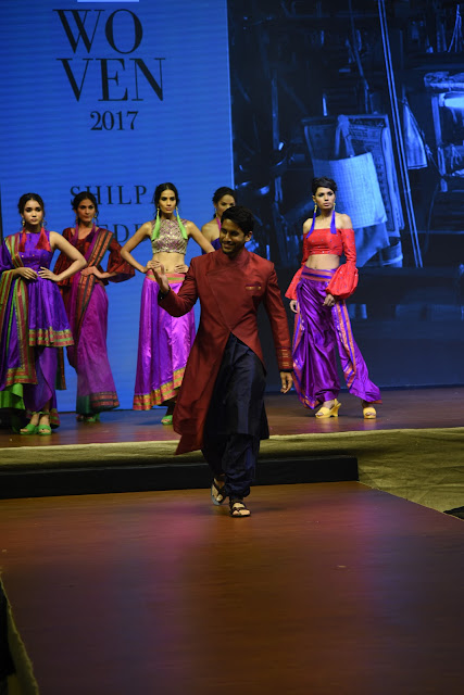 Naga Chaitanya walks the Ramp at woven 2017