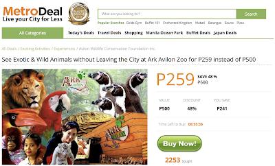 MetroDeal Ark Avilon Zoo Promo