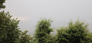 Heavy rain across the valley