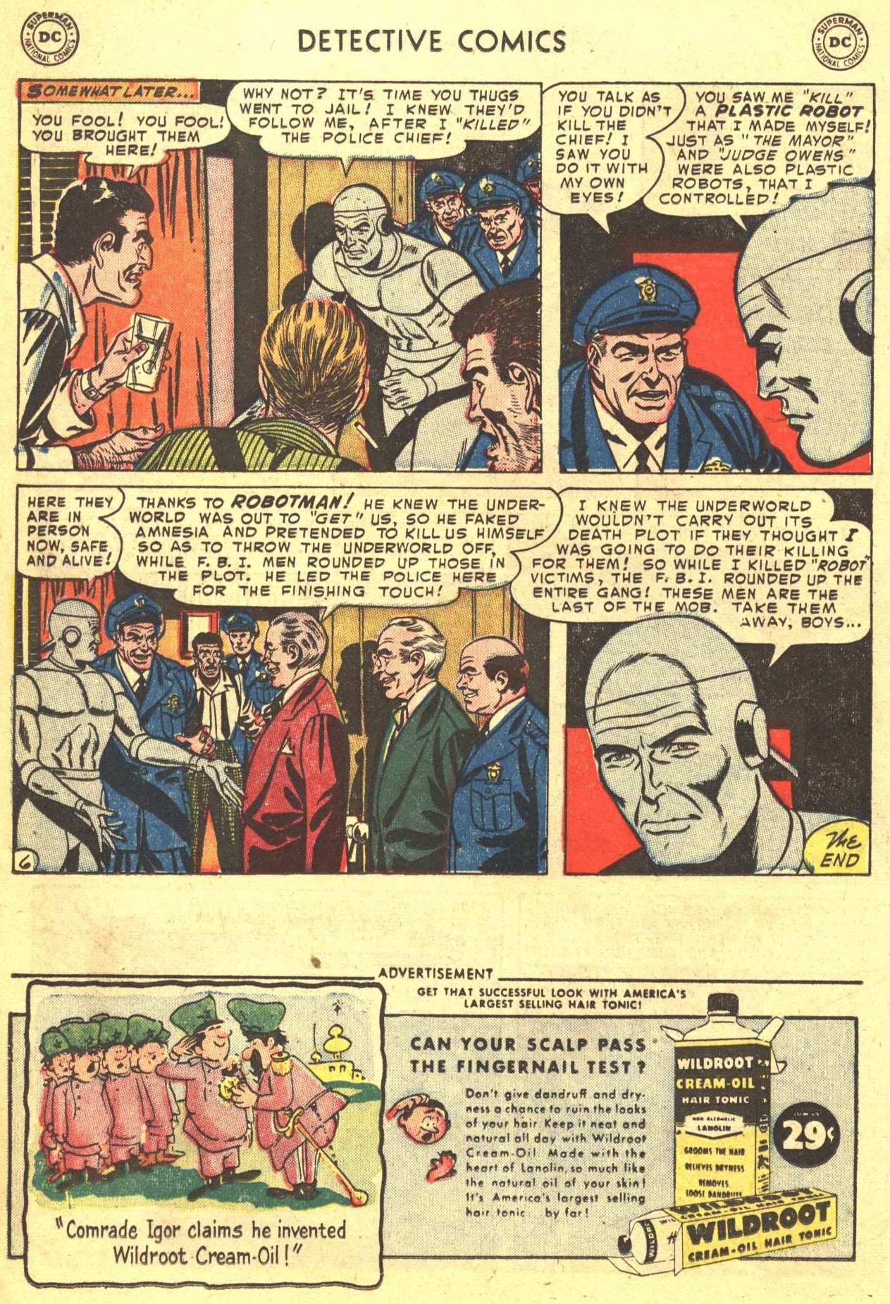 Detective Comics (1937) 198 Page 21